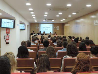 Los Masters & MBAs han comenzado en ESERP Barcelona.