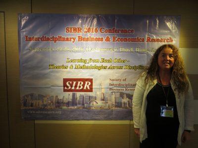 La Dra. Pilar Curós participa en el Congreso (SIBR) de Hong Kong