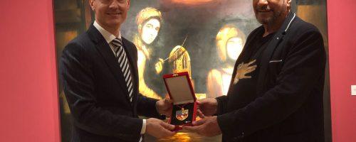 Eugenio Zanetti recibe Medalla ESERP