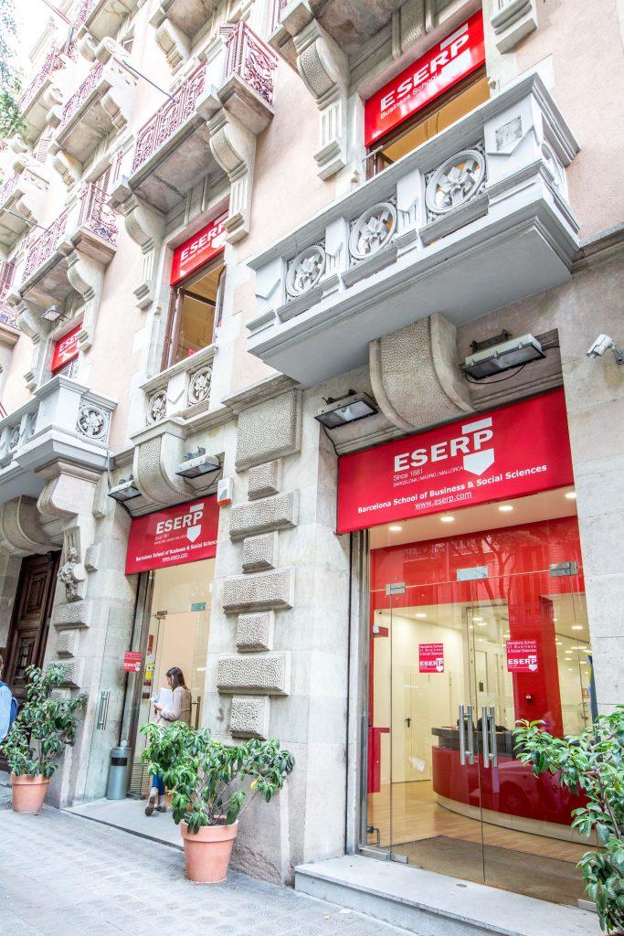 ESERP Barcelona amplia sus Instalaciones con un segundo edificio