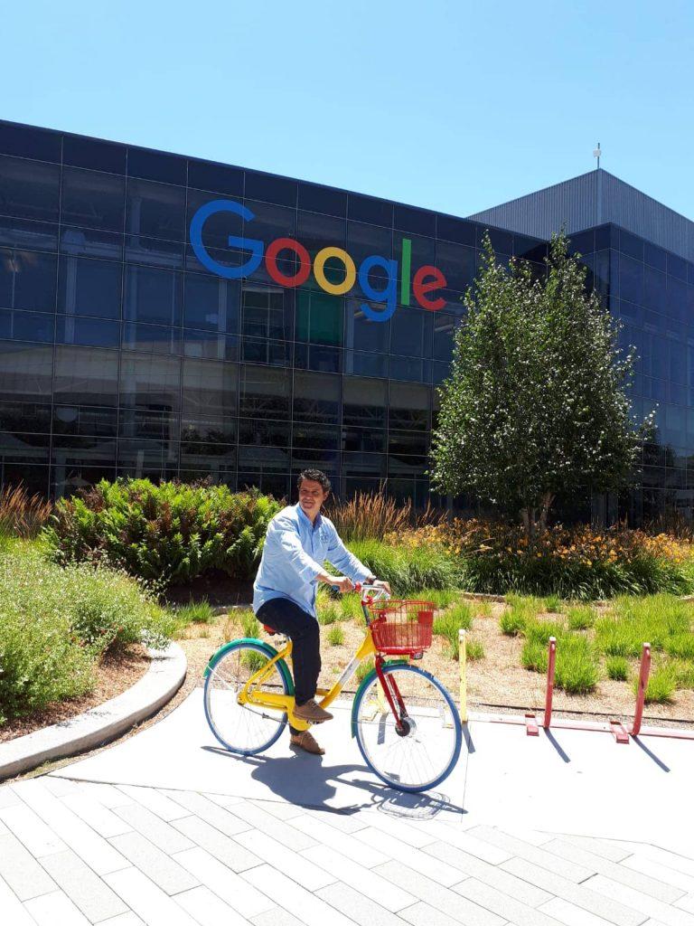 Sergi Fuster ex alumno ESERP en Google