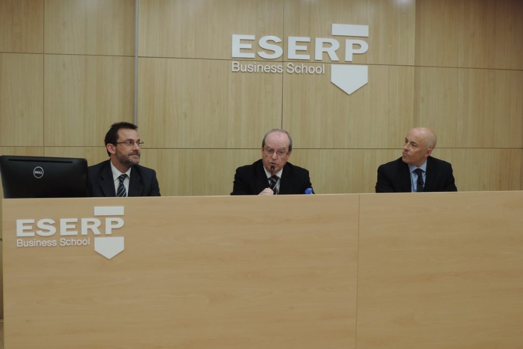 Eduardo Barrachina participa en el Ciclo de Conferencias de ESERP Barcelona