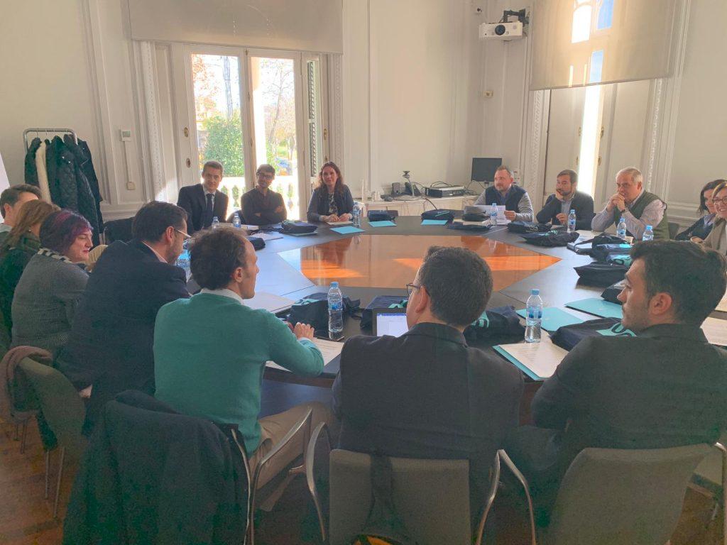 Algunos profesores de ESERP se reúnen en la Universidad Oberta de Catalunya