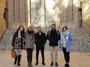 Estudiantes en la Primera Jornada de Lujo ESERP Mallorca