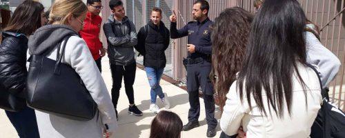 Los alumnos del Grado en Criminología de ESERP Barcelona visitan la Comisaría General de Investigación Criminal de los Mossos d´Esquadra