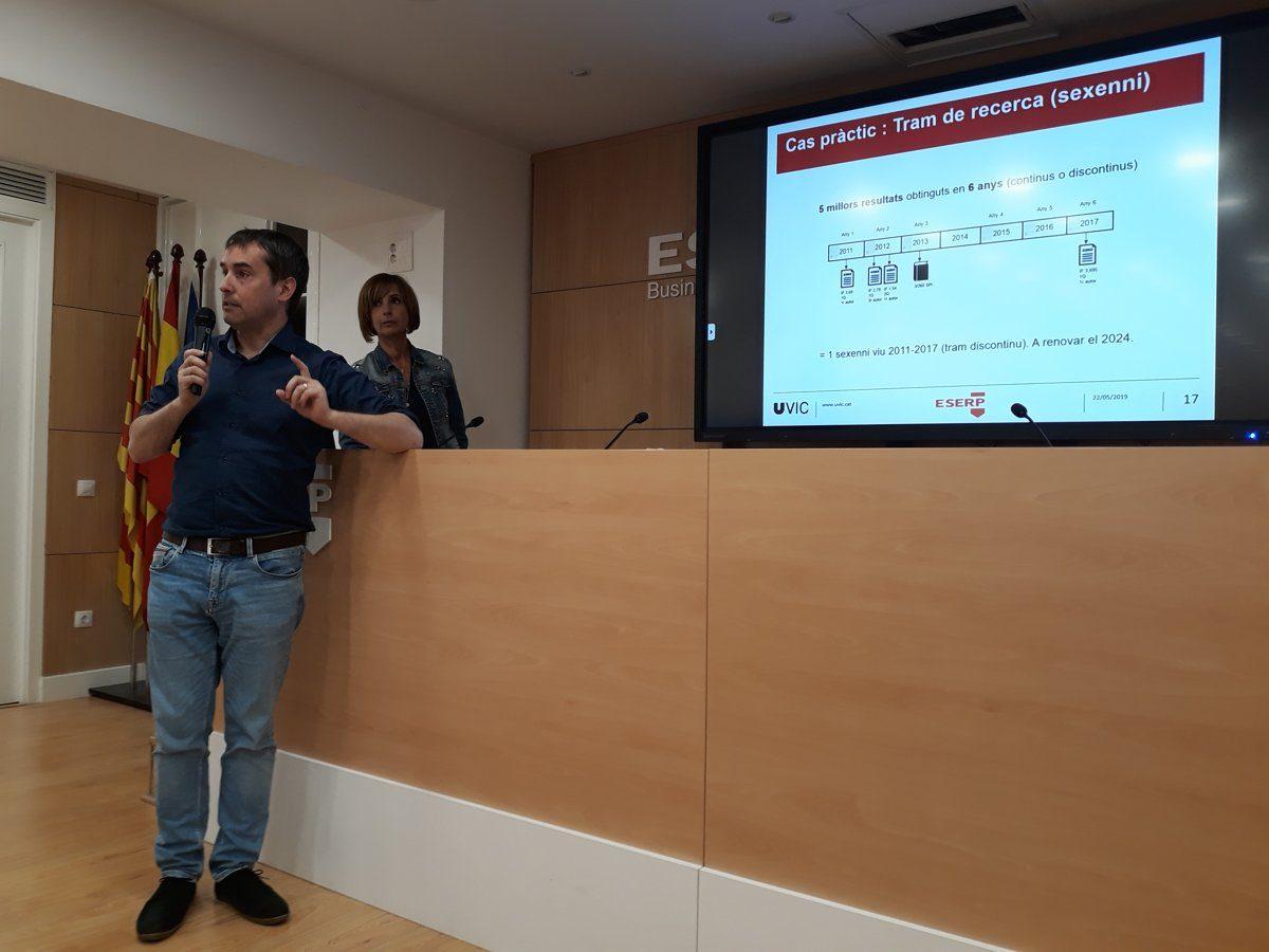 ESERP hospeda una conferencia para la formación de su profesorado de grados oficiales