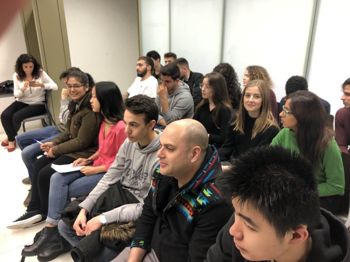 Alumnos de ESERP Barcelona disfrutan de una gran experiencia en la Ciudad de la Justicia de Barcelona