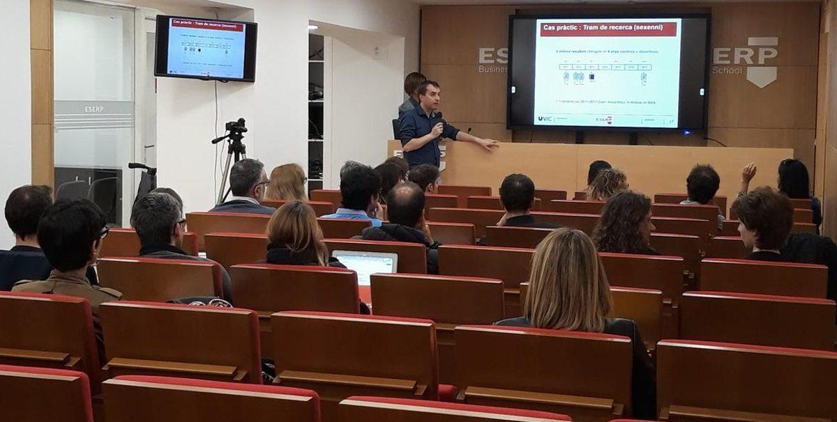 ESERP Barcelona hospeda una conferencia para la formación de su profesorado