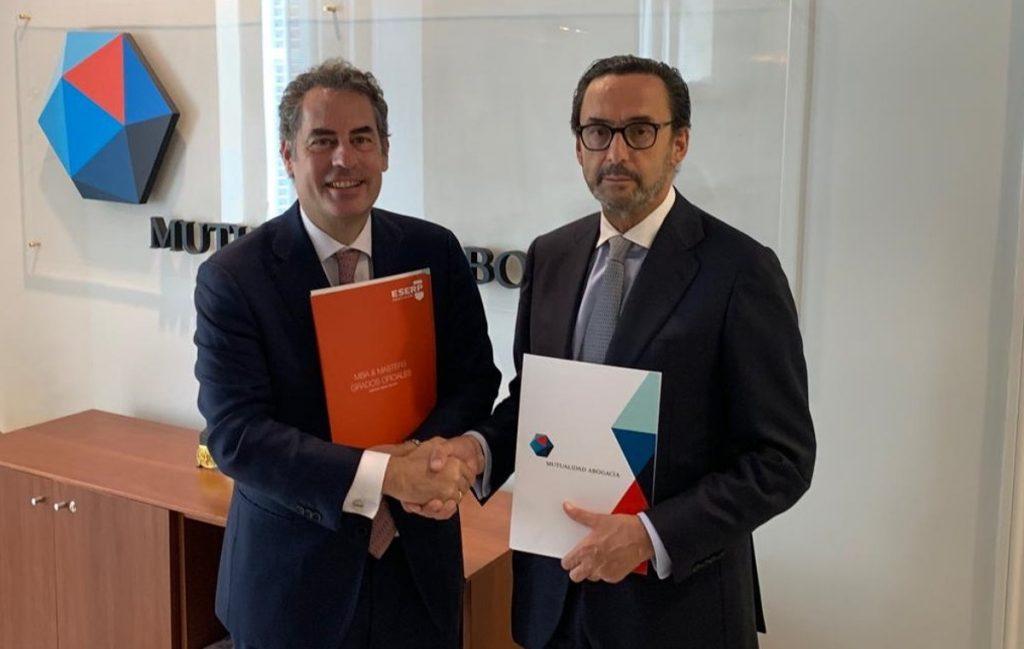 ESERP y la Mutualidad General de la Abogacía firma un convenio