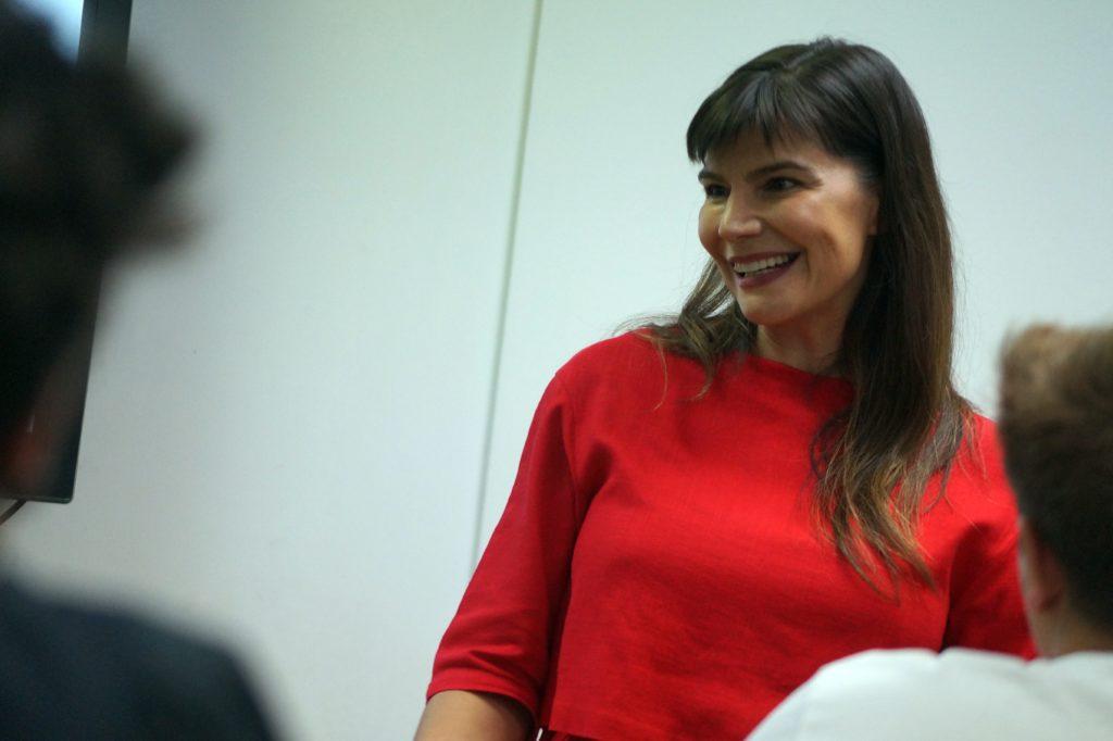 Monica Regueiro, Ponente de ESERP, en el módulo de Public Speaking
